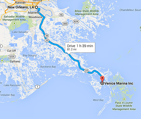 New Orleans To Venice Fishing Charters Venice Louisiana Fishing