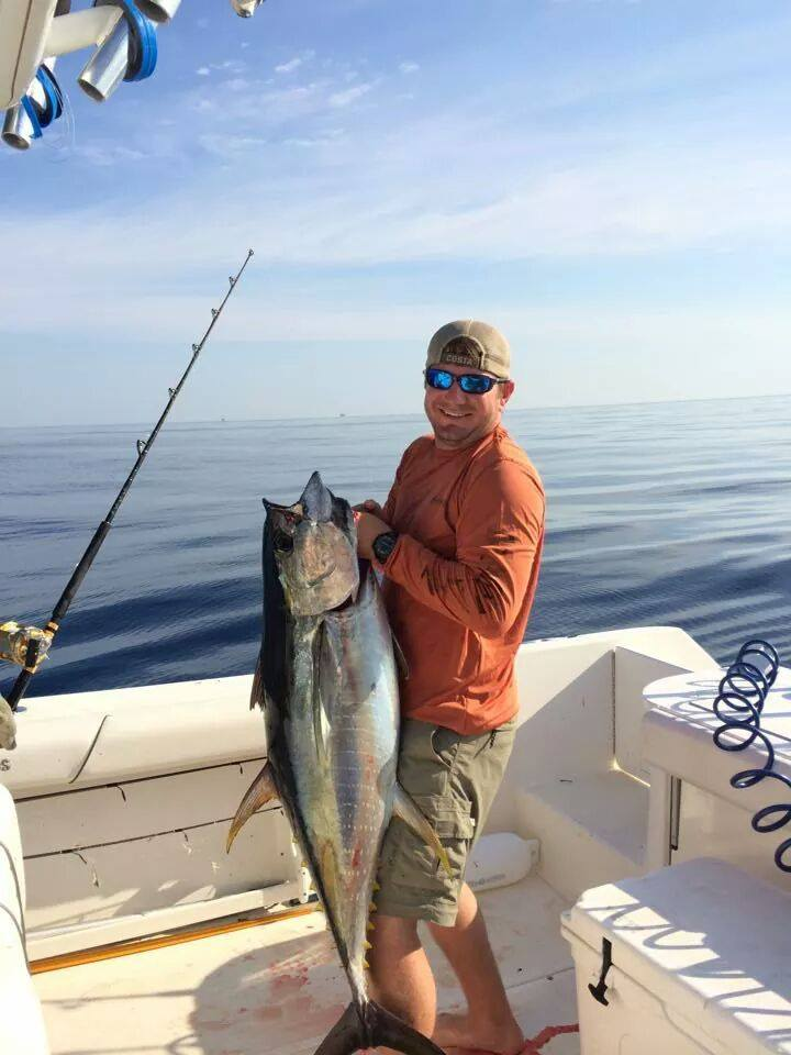 The tuna fishing has really picked up venice louisiana for La fishing charters