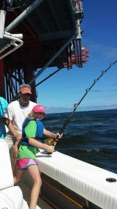 Girl Catch Fish