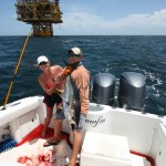 deep sea fishing view