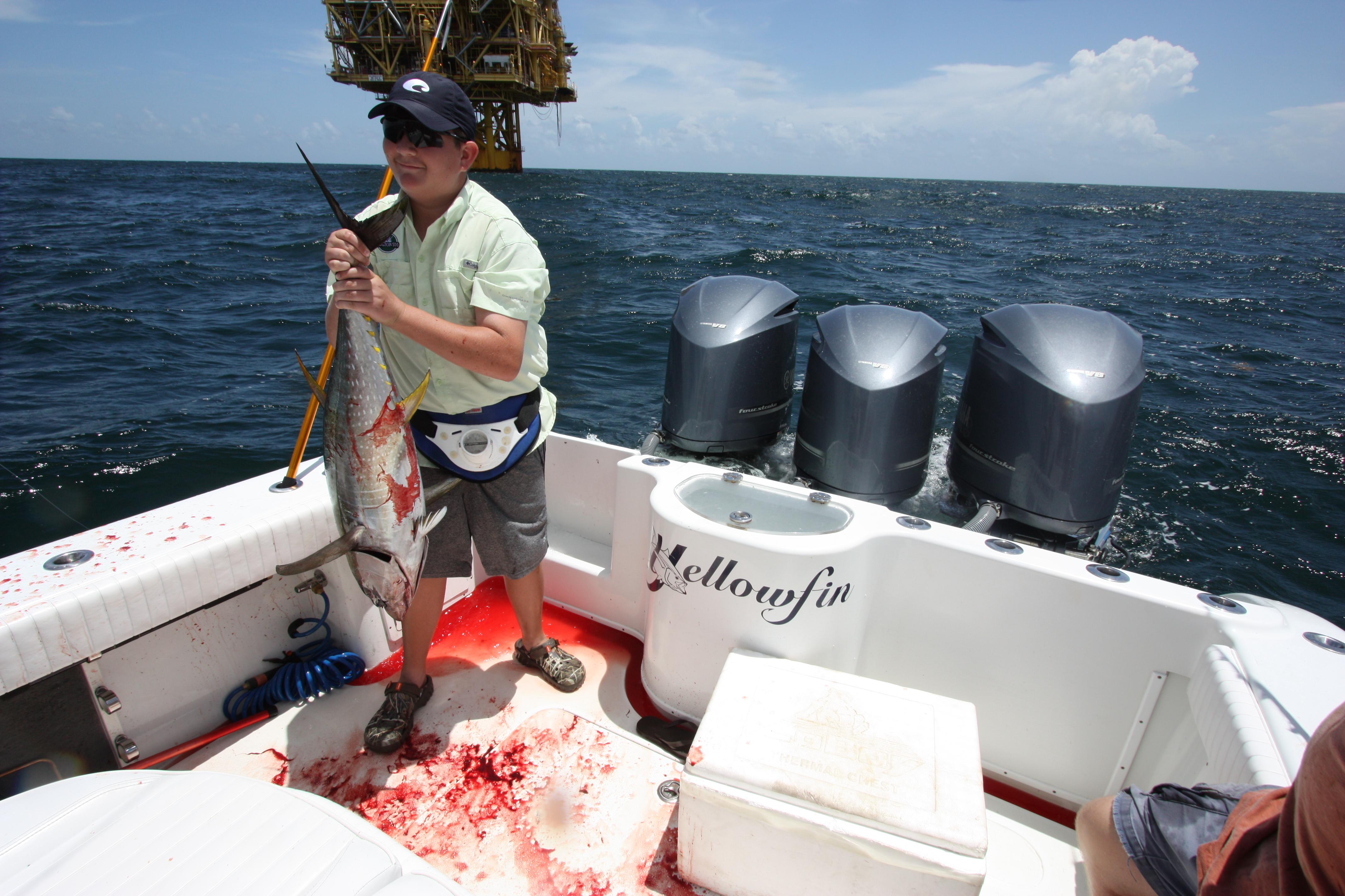 Venice la tuna fishing report 8 25 13 venice louisiana for Venice louisiana fishing