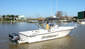 Yamaha Fishing Boat