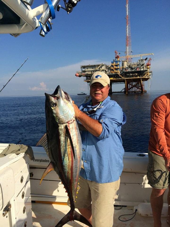 The tuna fishing has really picked up venice louisiana for Venice louisiana fishing charters