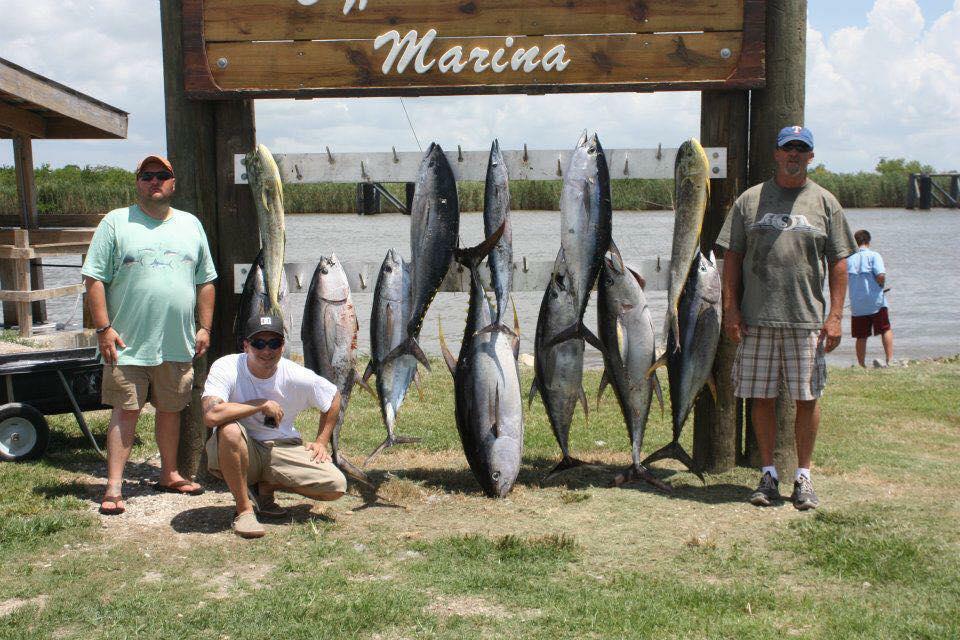 Monster tuna fishing charters venice louisiana fishing for Venice louisiana fishing charters