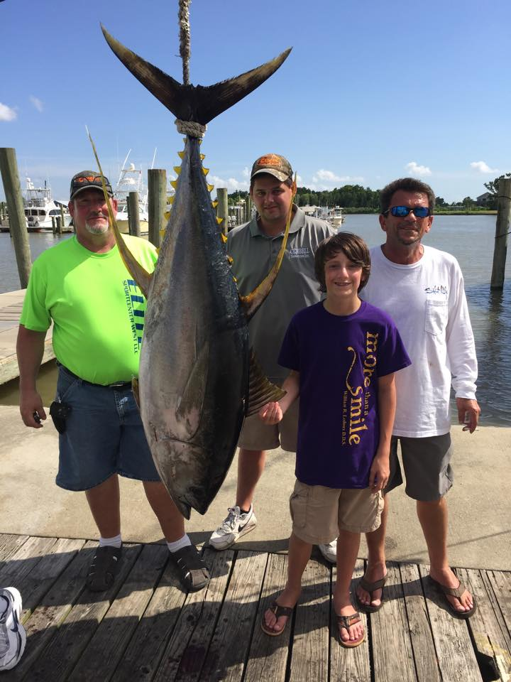 The biggest tuna of the year are here venice louisiana for La fishing charters