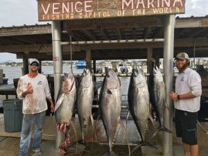 Venice Marina fishing
