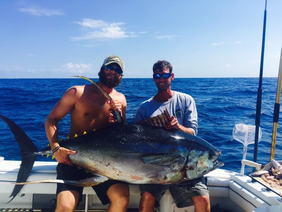 Biggest yellowfin in Venice